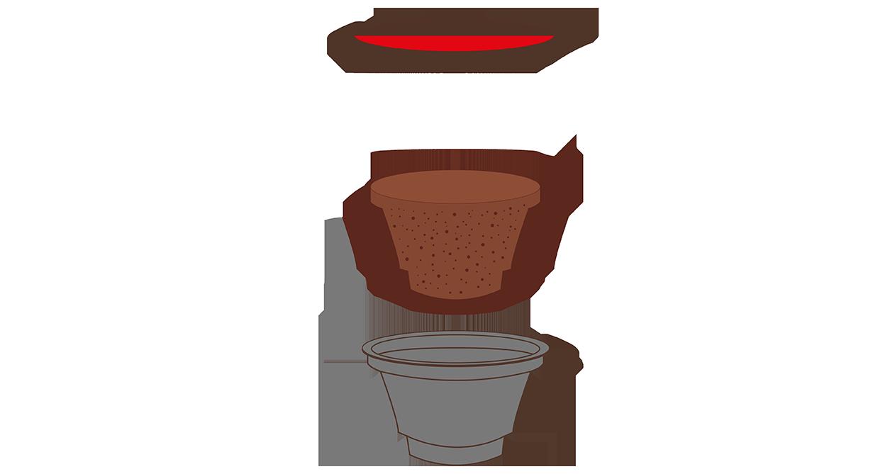 Sistema capsula Mokador Diva